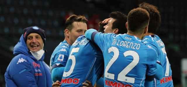 Napoli gruppo gol Udinese lapresse 2021 640x300
