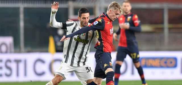 Rovella Bentancur Genoa Juventus lapresse 2021 640x300