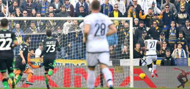 Gervinho gol Sassuolo Parma lapresse 2021 640x300