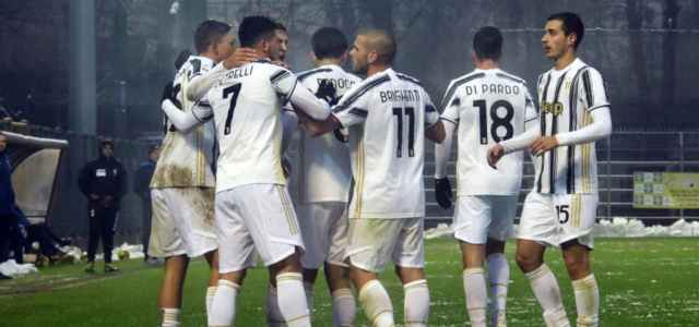 Juventus U23 gruppo gol lapresse 2021 640x300