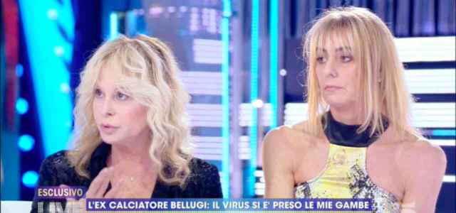 Lory e Giada, moglie e figlia Mauro Bellugi