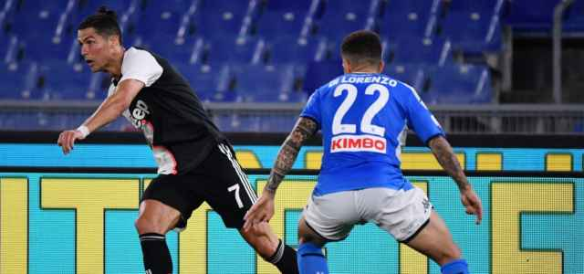 Ronaldo Di Lorenzo Juventus Napoli lapresse 2021 640x300