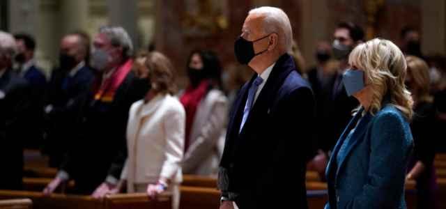 Joe Biden e la moglie