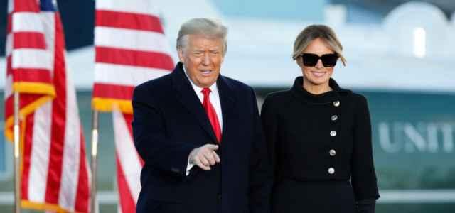 Donald Trump e Melania