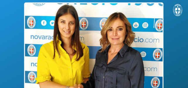 Elena Tagliabue e Regina, moglie e figlia di Beppe Baresi