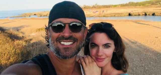Enrica Pintore e il fidanzato Daniele