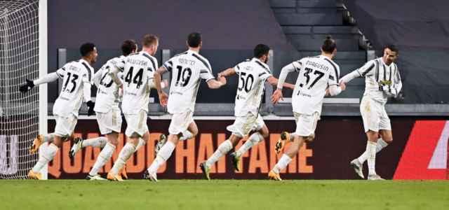 Juventus esultanza Coppa Italia lapresse 2021 640x300