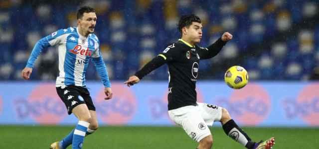 Mario Rui Agudelo Napoli Spezia lapresse 2021 640x300