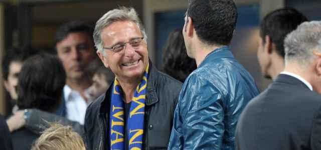 Paolo Bonolis Inter sciarpa lapresse 2021 640x300