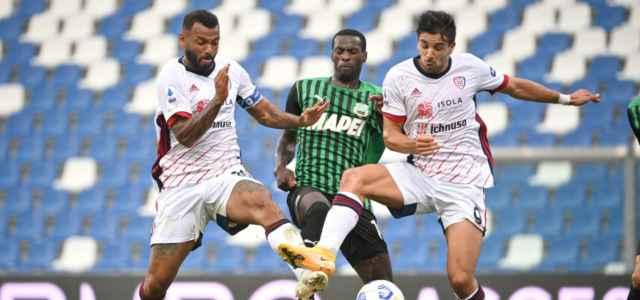 Joao Pedro Obiang Simeone Sassuolo Cagliari lapresse 2021 640x300