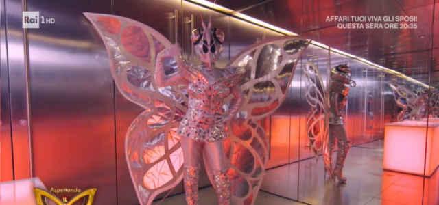 La Farfalla de 'Il Cantante Mascherato'
