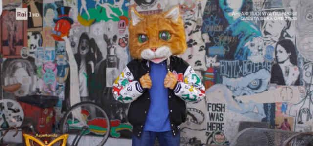 Il Gatto de 'Il Cantante Mascherato'