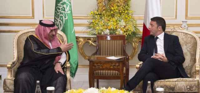 Renzi in visita a Riad