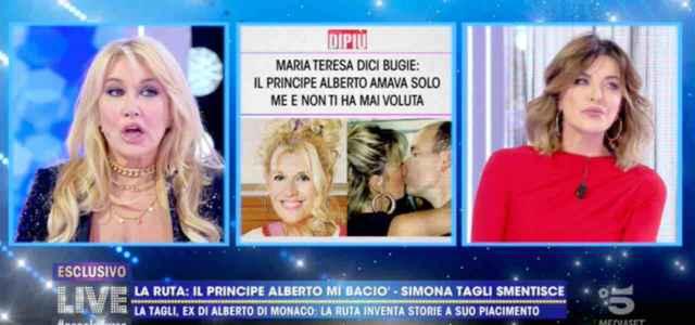 Simona Tagli contro Maria Teresa Ruta