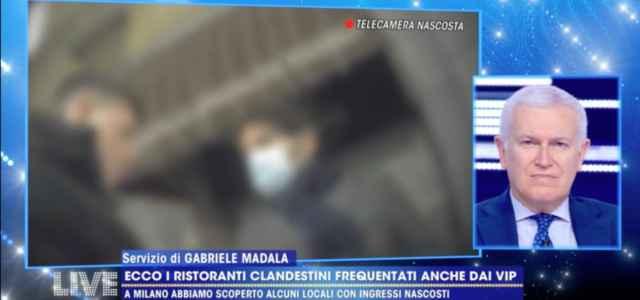 Servizio Live Non è la D'Urso su ristoranti clandestini Milano