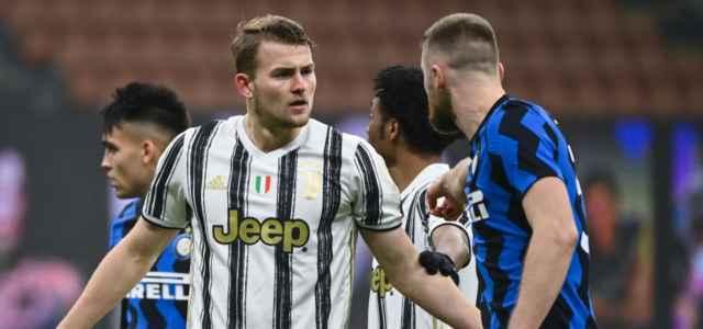De Ligt Skriniar Inter Juventus lapresse 2021 640x300