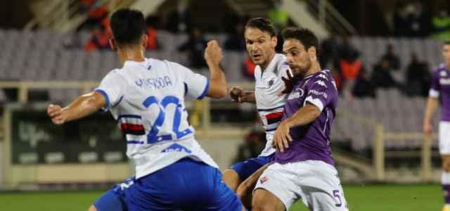 Bonaventura Yoshida Ekdal Fiorentina Sampdoria lapresse 2021 640x300