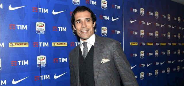 L'ex calciatore e opinionista Bernardo Corradi