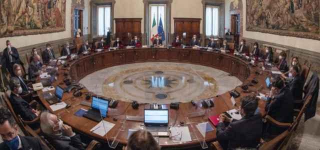 Consiglio dei Ministri Draghi