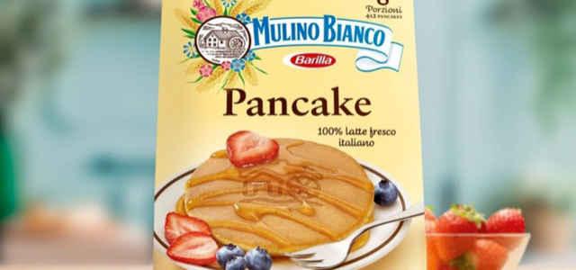 I Pancake già pronti del Mulino Bianco