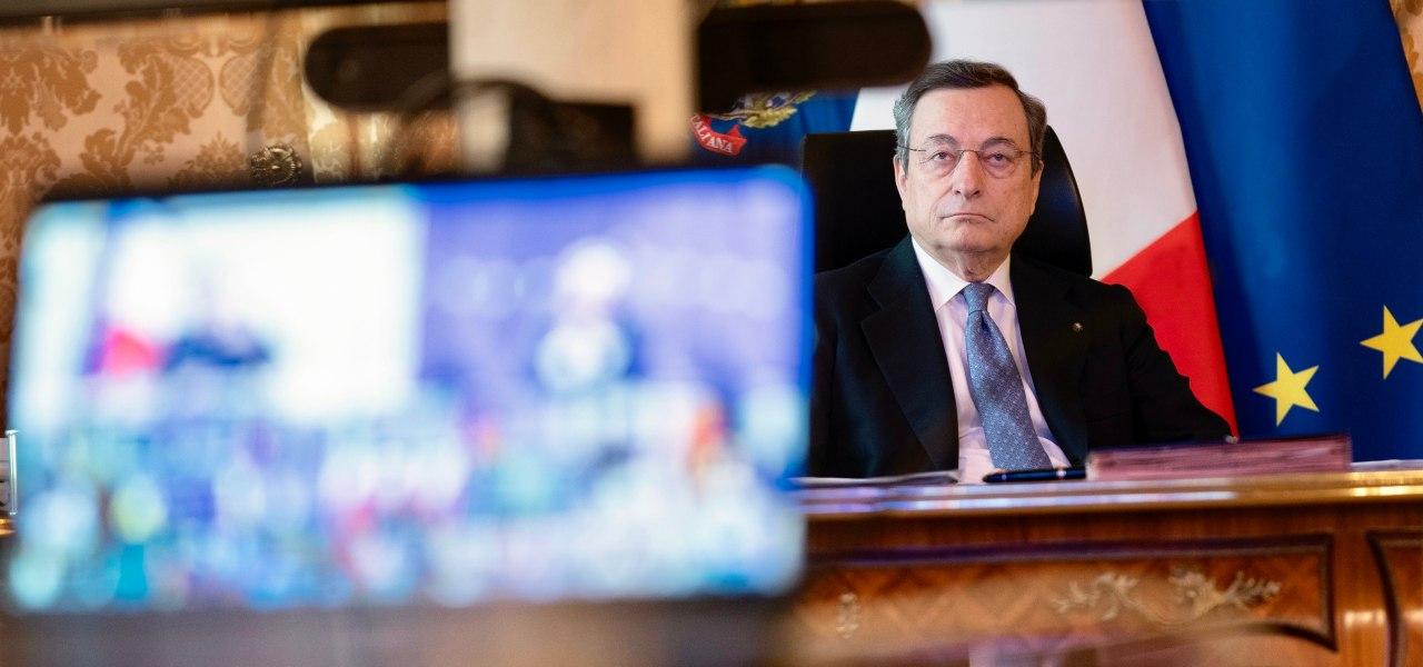 Consiglio Ue, Draghi