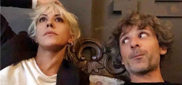 Malika Ayane in compagnia del fidanzato Claudio Fratini