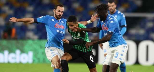 Fabian Ruiz Bakayoko Rogerio Napoli Sassuolo lapresse 2021 640x300