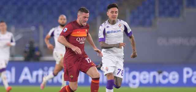 Veretout Pulgar Roma Fiorentina lapresse 2021 640x300