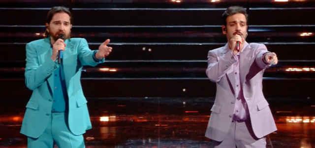 Colapesce e Dimartino sul palco dell'Ariston