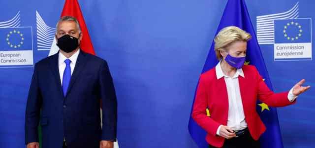 Orban e Von der Leyen