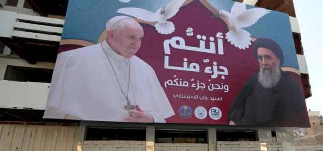 Papa in Iraq