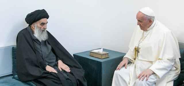 iraq alsistani papa francesco 1 lapresse1280 640x300