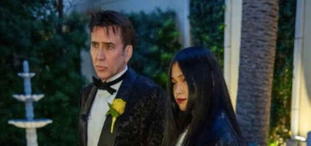 Nicolas Cage e Riko Shibata