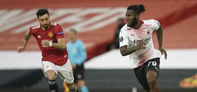 Bruno Fernandes Kessie Manchester United Milan lapresse 2021 640x300