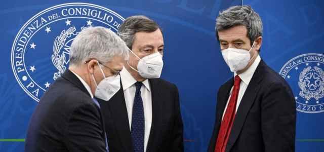 Franco, Draghi e Orlando