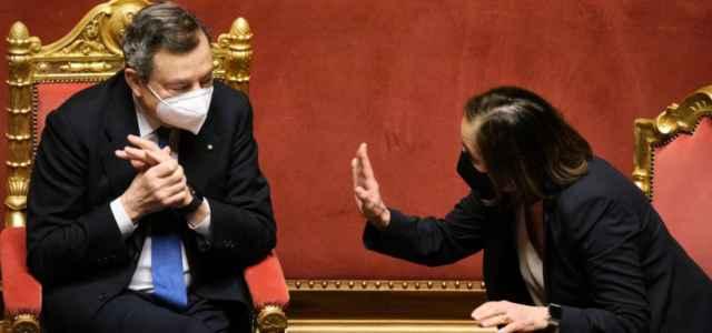 Lamorgese e Draghi