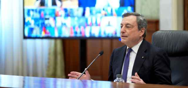 Draghi all'EuCo