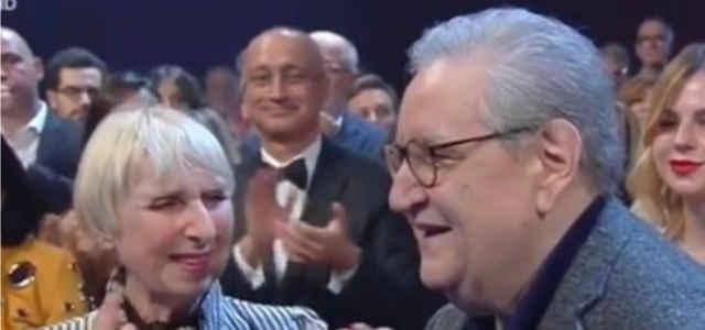 Vincenzo Mollica in compagnia della moglie Maria Rosa