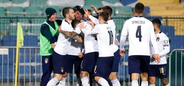 Italia bianca gruppo gol lapresse 2021 640x300