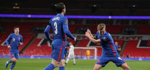 Ward Prowse Chilwell Inghilterra gol lapresse 2021 640x300