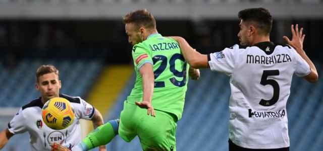 Marchizza Lazzari Spezia Lazio lapresse 2021 640x300