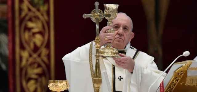 Papa Francesco, messa pasqua