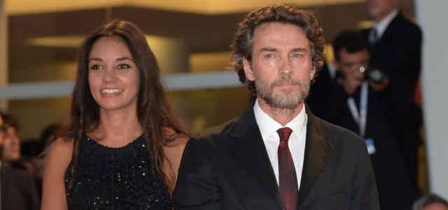 Alessio Boni in compagnia della fidanzata Nina Verdelli