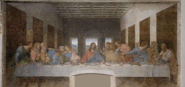 Il dipinto dell''Ultima Cena'