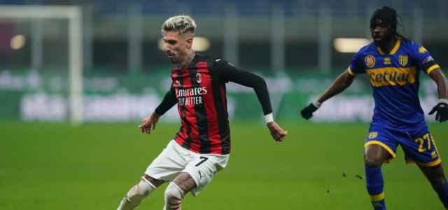 Castillejo Gervinho Milan Parma lapresse 2021 640x300