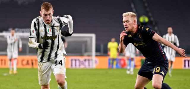 Kulusevski Czyborra Juventus Genoa lapresse 2021 640x300