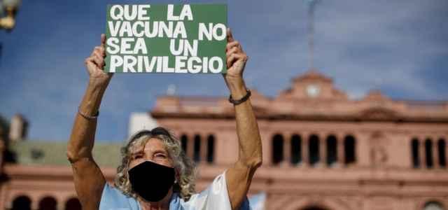 Argentina protesta vaccino Lapresse1280 640x300