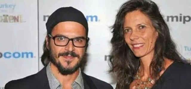 Mehmet Gunsur in compagnia della moglie Katerina Morgio