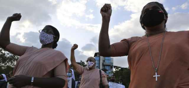 Proteste cristiani India