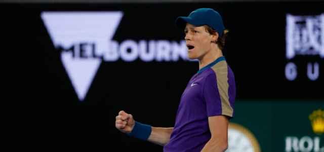 Jannik Sinner esultanza Australian Open lapresse 2021 640x300